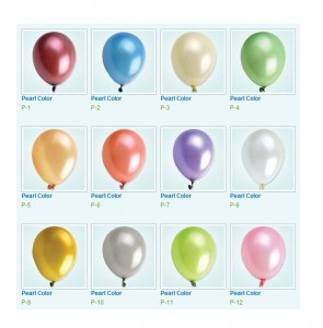 Colour Swatch - Pearl Balloons